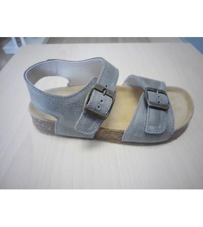 Sandalia bio gris