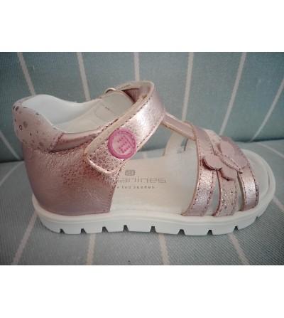Sandalia rosa palo mariposa